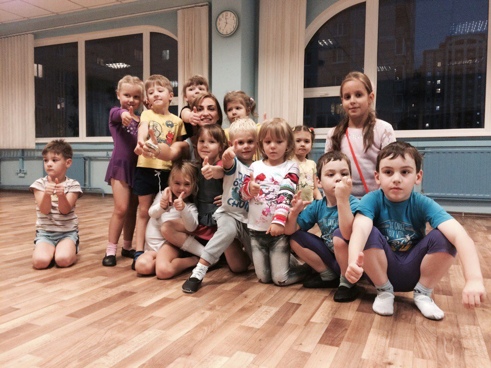 Современные детские танцы для начинающих в Санкт-Петербурге.